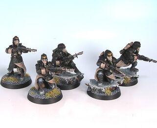 Korps de la muerte de krieg miniaturas