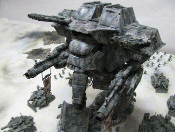 Miniatura Apocalypse Titan Warlord wikihammer.jpg