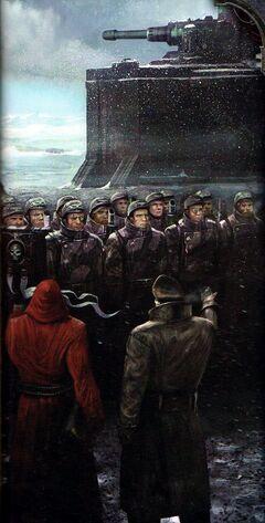 Guardia Imperial formación de Valhalianos wikihammer.jpg