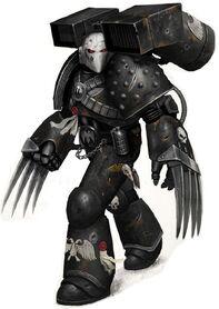 Veterano Vanguardia Guardia del Cuervo Servoarmadura Corvus