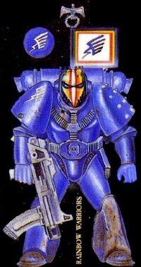 Guerreros del Arco Iris Rogue Trader 1ª Edición ilustración.jpg