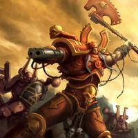 Khârn el Traidor luchando junto a otros Berserkers