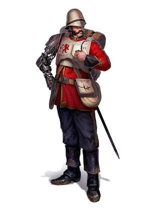Praetorianos Guardia Imperial brazo biónico.jpg