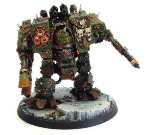 Caos dreadnought guardia de la muerte