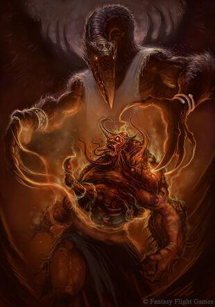 Caos tzeentch demonio transformacion wikihammer.jpg