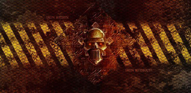 Fondo guerrero de hierro