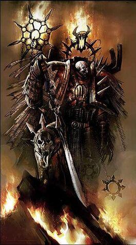 Kor Phaeron Caos Portadores Palabra Marines Warhammer 40k Wikihammer