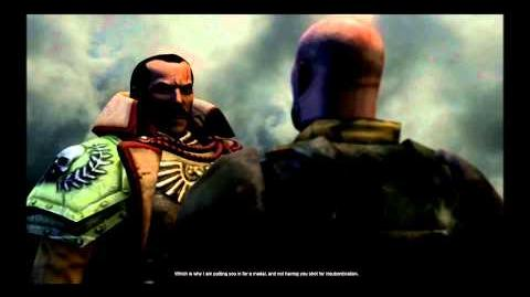 Dawn of War 2 Retribution Imperial Guard Ending