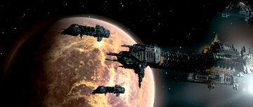 Flota Orbita Barcaza de Batalla Adeptus Astartes Fragata Pesada Clase Turbulencia Wikihammer.jpg