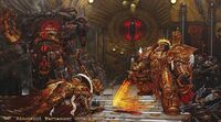 Emperador Horus Sanguinius Herejía 40k Wikihammer 2