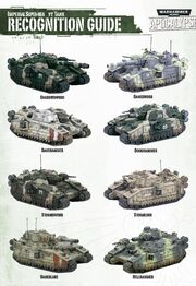 Guardia imperial tanques superpesados