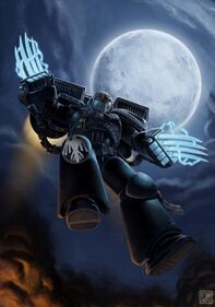 Marine de Asalto Guardia del Cuervo Luna