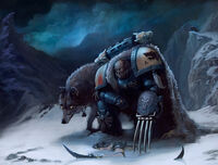 Space wolves in the Hunt