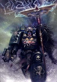 Lobo espacial sacerdote rúnico