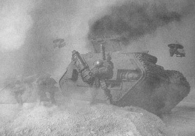 Tanque Imperial destruido por Equipo Mimético XV15 Sombra Campaña de Taros.jpg