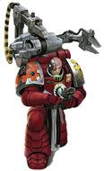 Grifos Aullantes Tecnomarine Marines Espaciales Astartes Wikihammer