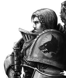 Space marine wolve