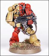 Grifos Aullantes Miniatura Servoarmadura Mark VII Aquila Marines Espaciales Astartes Wikihammer