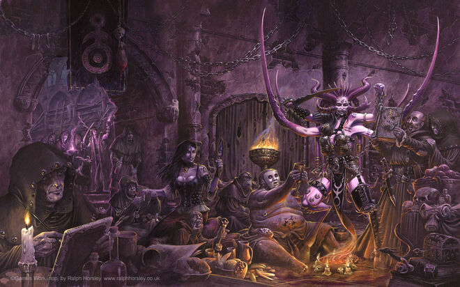Culto a Slaanesh Wallpaper