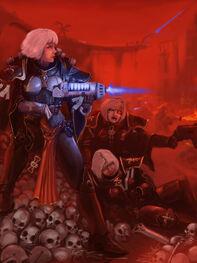 Soro sisters of battle in warp