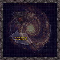 Mapa Segmentum Tempestus Galaxia Wikihammer