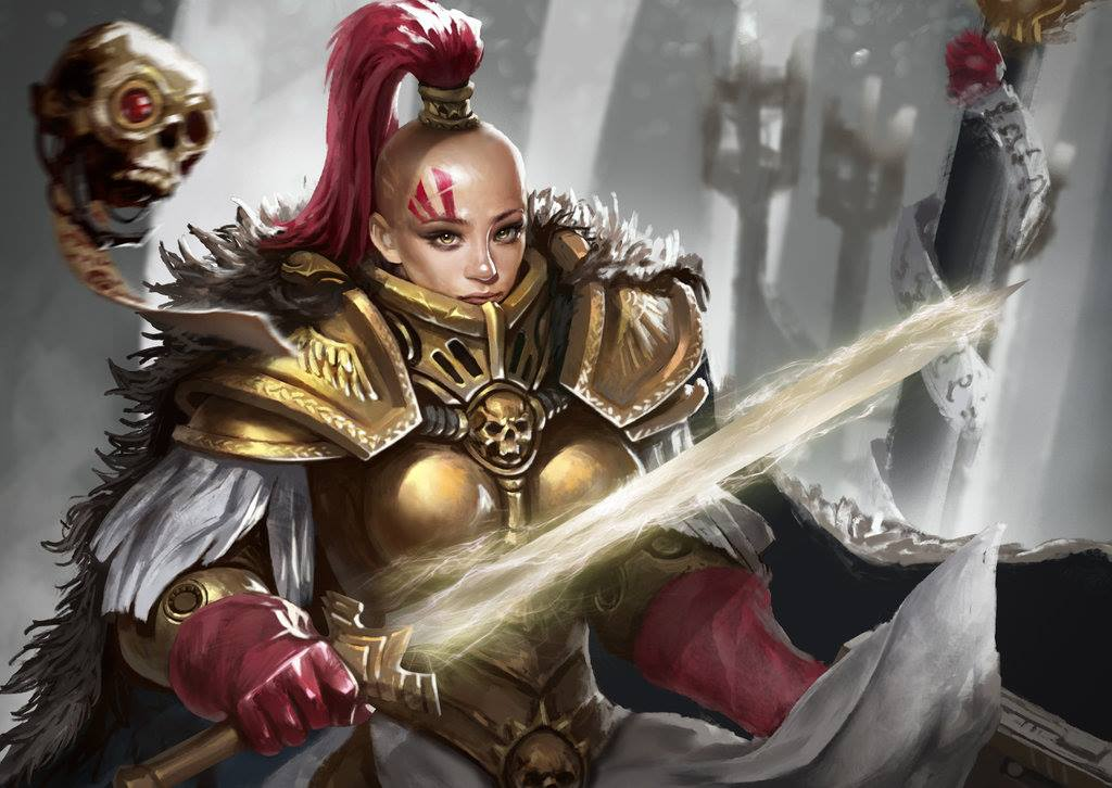 Resultado de imagen de hermanas del silencio warhammer