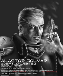 Praefector Primaris Alastor Solvar Adeptus Arbites Wikihammer