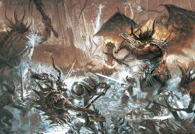 Marines caballeos grises vs demonios khorne.jpg