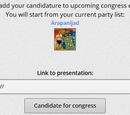 Elecciones del congreso