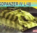Dragon Models 1/72 7276 Jagdpanzer IV L/48 Early Production
