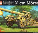 Revell/Germany 1/72 03169 21cm Morser 18