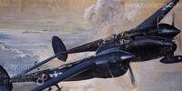 Academy 1/48 Lockheed P-38M Lightning