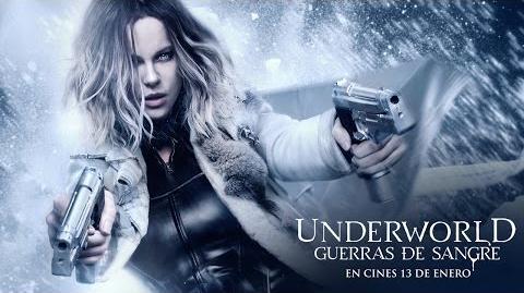 "UNDERWORLD GUERRAS DE SANGRE. ""Blood"" Tráiler HD en español. Ya en cines."