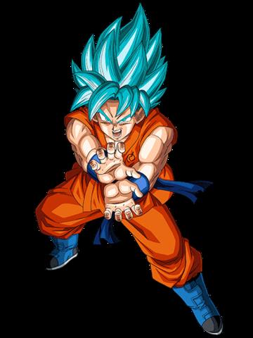 Archivo:Super Saiyajin Azul Artwork.png