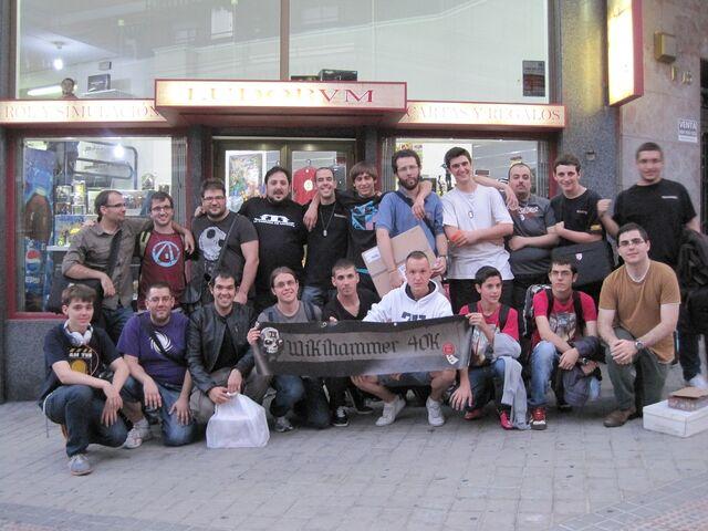 Archivo:Torneo Wikihammer Patrullas Madrid 5 de Octubre 40k.jpg