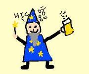 Drunk wizard