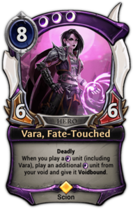 Vara, Fate-Touched