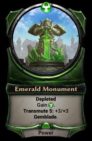 Emerald Monument