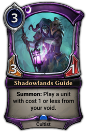 Shadowlands Guide