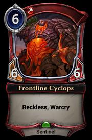 Frontline Cyclops