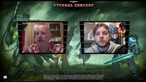 Cosmicengine interviews Graham Mcneill, co-writer of Eternal Crusade