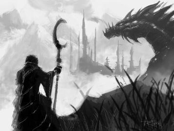 Sketch mage dragon2