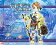 Eternal Sonata Promotional Wallpaper - Beat (Xbox 360)