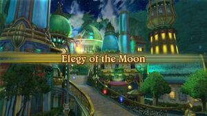 Elegy of the Moon Intro Screen