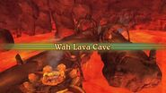 Wah Lava Cave Intro Screen