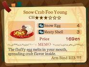 Stratum 3. Snow Crab Foo Young
