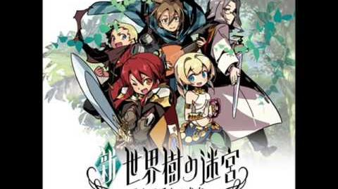 Etrian Odyssey Untold TMG - Labyrinth IV - The Withered Forest