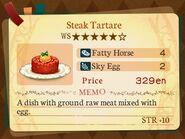 Stratum 5. Steak Tartare