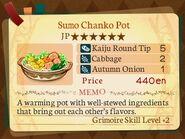 Stratum 6. Sumo Chanko Pot