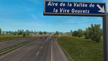 Aire de la Vallée de la Vire Gouvets